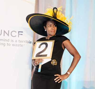 UNCF event participant