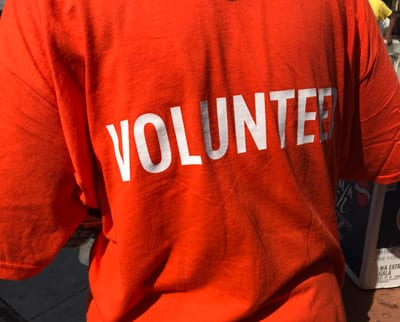 UNCF Event Volunteer shirt