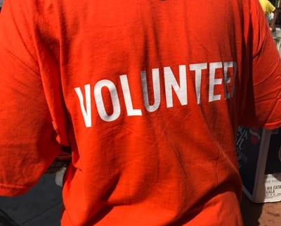 UNCF Event Volunteer shirt