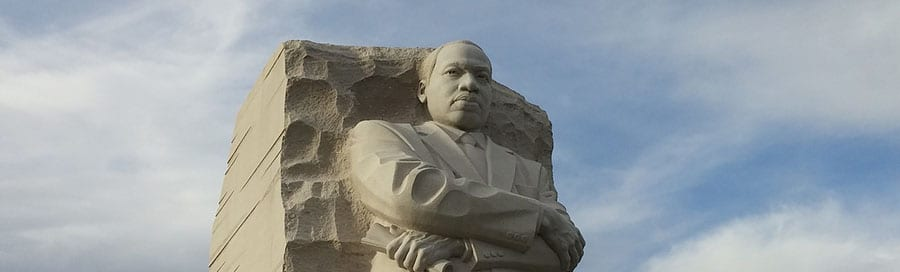 MLK Memorial in Washington DC