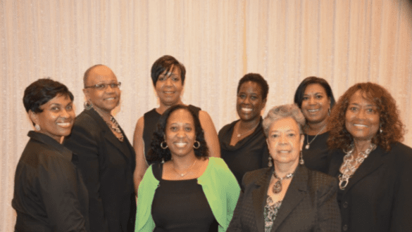 Members of the Princeton Committee of UNCF from New Jersey
