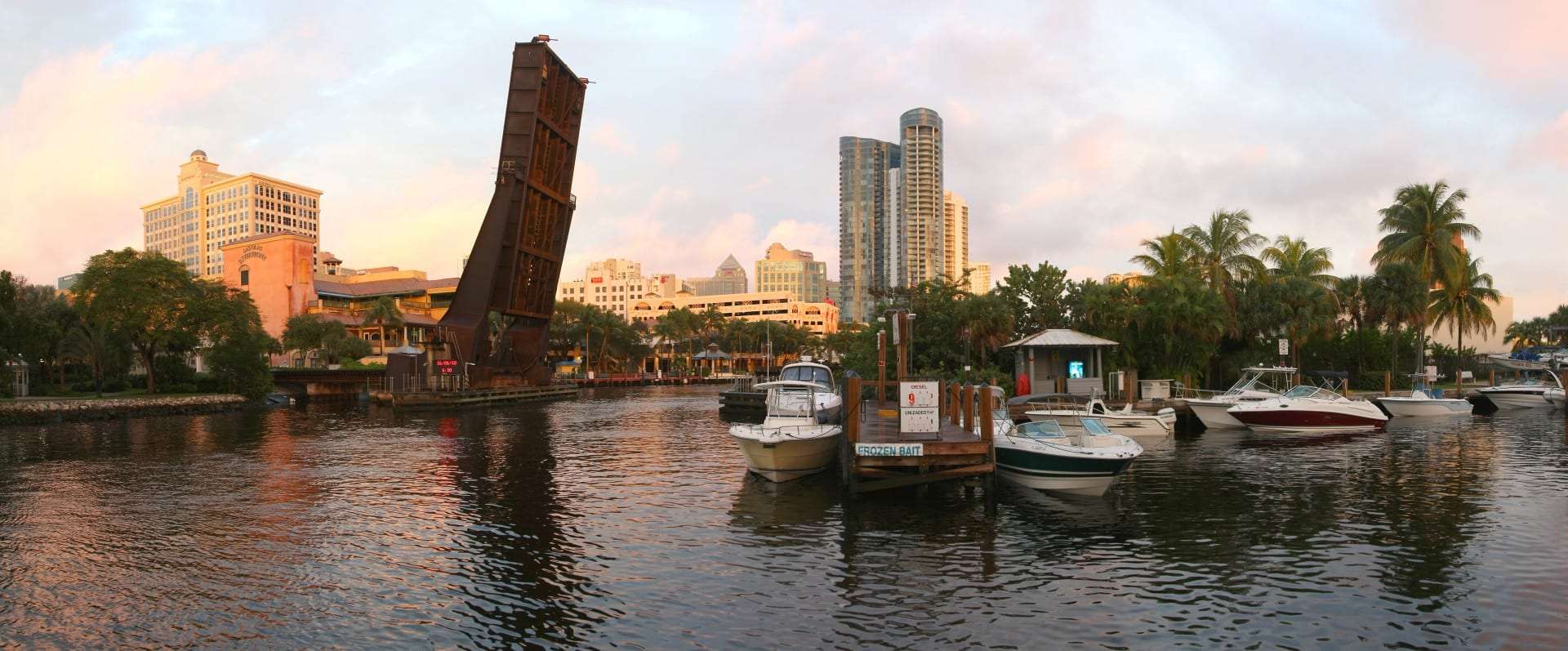 Skyline of city of Ft. Lauderdale