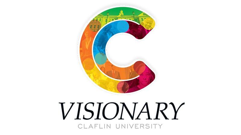 Claflin University visionary logo