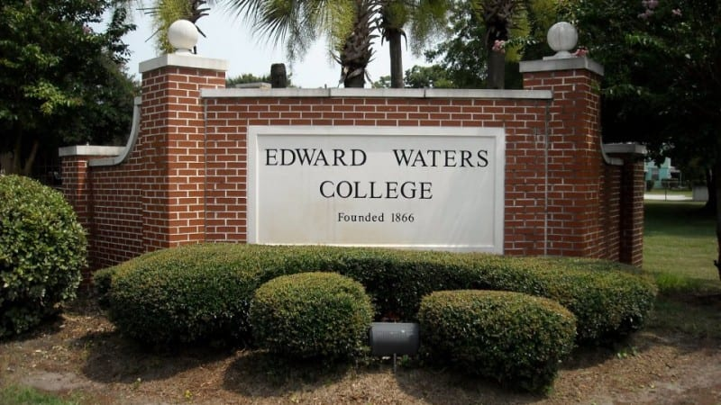 Edward Waters College sign