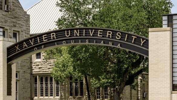Xavier University sign
