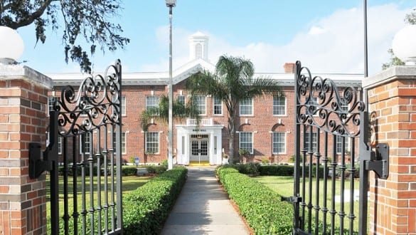 Building at Bethune Cookman University
