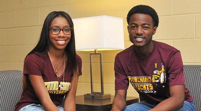 2 Bethune-Cookman University students