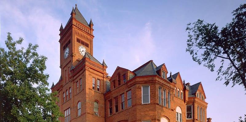 Building at Johnson C Smith University