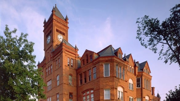 Building at Johnson C. Smith University