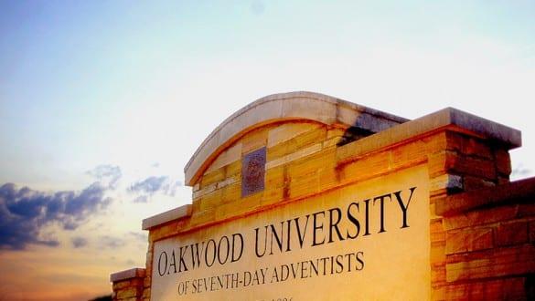 Oakwood University sign