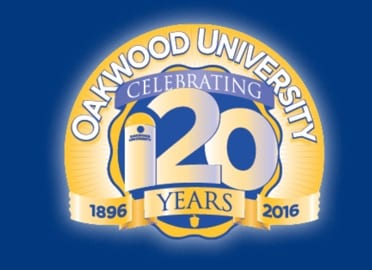 Oakwood University 120th anniversary logo