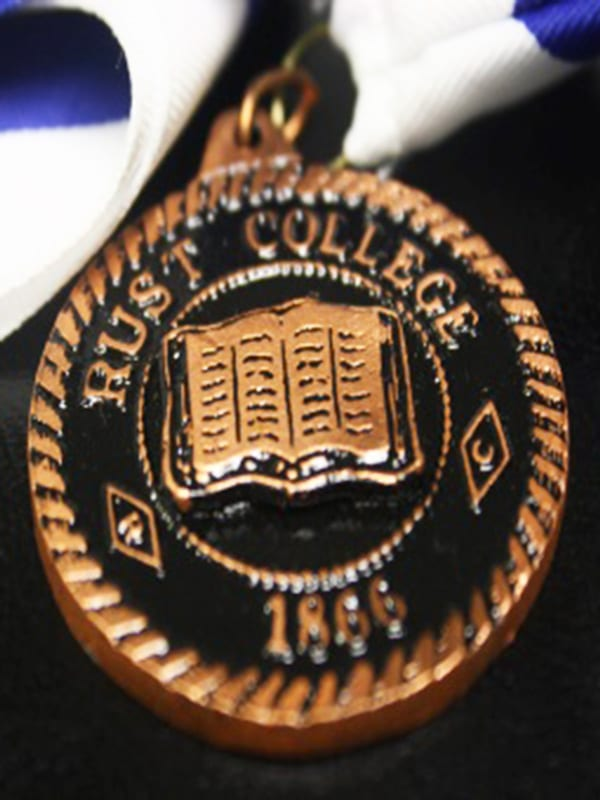 Rust College medal