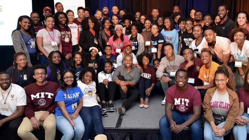 Group shot of UNCF Koch Scholars Program Summit participants