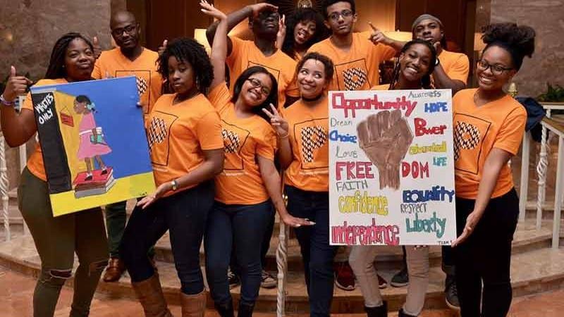 Group shot of UNCF Koch Scholars Program Summit participants