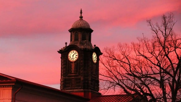 Tuskegee University clock tower