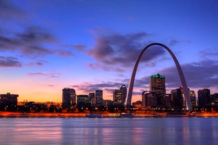Skyline of St. Louis