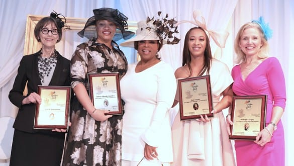 Oprah and honorees