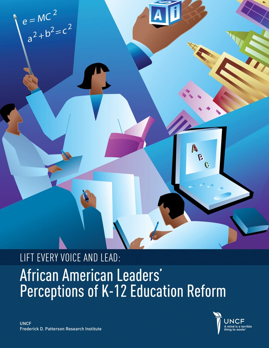 African American Leader's Perception of K-12 Education Reform Cover