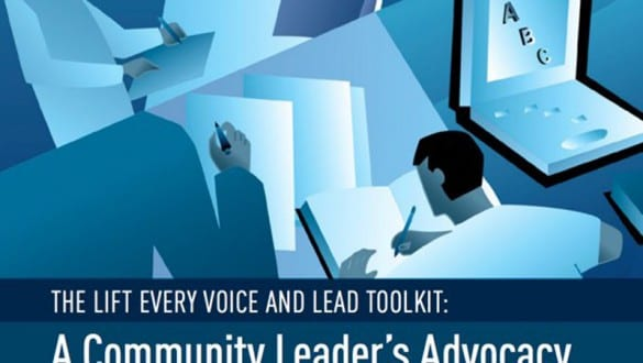 banner image for Lift Every Voice and Lead Toolkit report