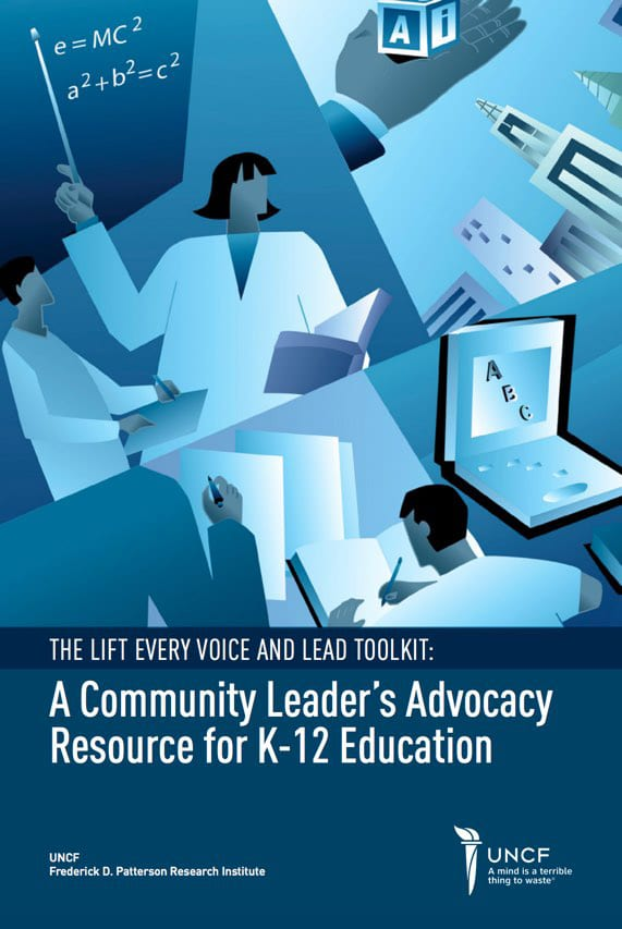 UNCF Community Leader's Advocacy Resource for K-12 Education Toolkit Cover