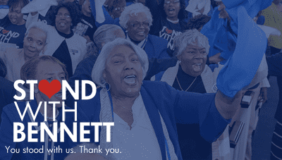 Stand With Bennett banner image
