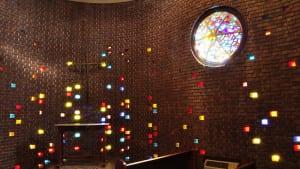 Photo of chapel interior at Stillman University