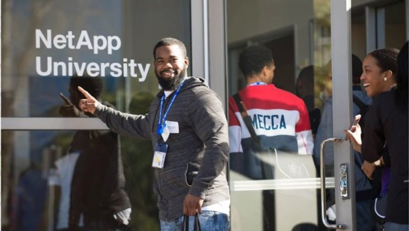 Students attending UNCF HBCU Innovation Summit