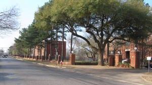 texas college campus