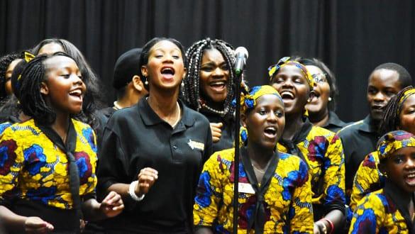 Parental Care Ministries Uganda Choir performing