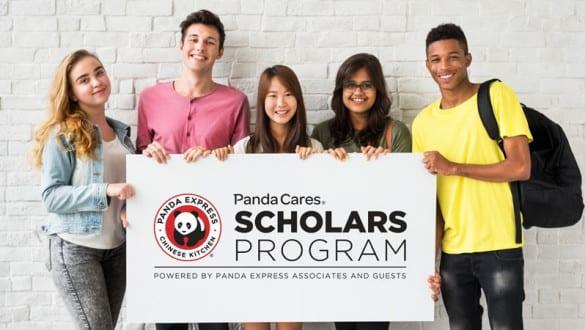 Panda Cares Scholars Program hero banner
