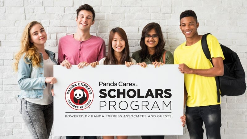 Panda Cares Scholars Program hero banner