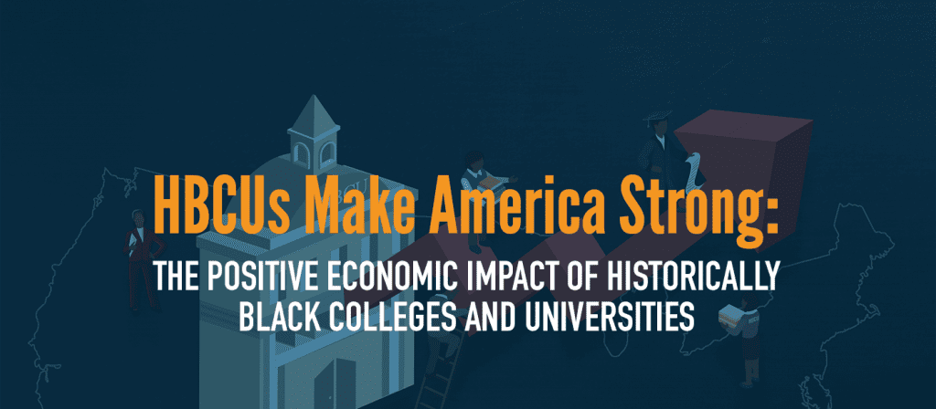 UNCF HBCU Economic Impact Report banner image