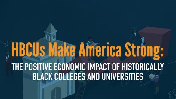 UNCF HBCU Economic Impact Report banner image