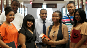 Group shot of Virginia Union University students