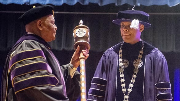 wiley college president invocation